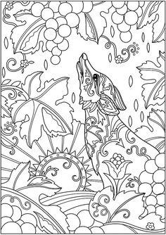 Decorative Fox And Grapes