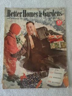Better Homes And Gardens December 1940 | EBay Christmas Cover, Christmas  Time Is Here,