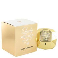 Lady Million by Paco Rabanne 2.7 oz Eau de Toilette Spray  http://www.womenperfume.net/lady-million-by-paco-rabanne-2-7-oz-eau-de-toilette-spray/