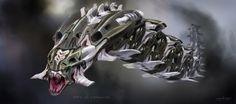 spaceship frigate concept art - Google Search