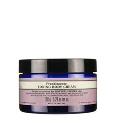 Frankincense Toning Body Cream - age-defying combintion of frankincense, gotu kolo, calendula and essential fatty acids, strengthens, tones, and softens the skin.  $48 #toning #bodycream #organic 5.29fl.oz