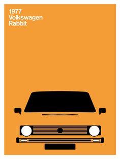 PrintCollection - Volkswagen Rabbit, 1979