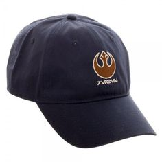 a0365e276d8 Star Wars ROGUE ONE Rebel Logo Dad Hat Cap Adjustable NEW Alliance Flexible   Bioworld