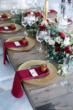 Gold Christmas Decorations, Wedding Table Decorations, Wedding Themes, Wedding Centerpieces, Wedding Colors, Burgundy Wedding, Red Wedding, Rustic Wedding, Farm Wedding