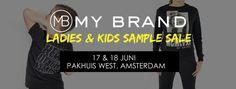 MY BRAND Ladies & Kids Exclusive Sample Sale -- Amsterdam -- 17/06-18/06