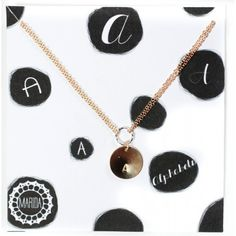 Alphabet Necklace by Mirada Jewelry #MothersDay @Luvocracy