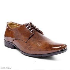 Formal Shoes Trendy Formal Men's Shoe  *Material* Outer - Synthetic, Sole - PVC  *IND Size* IND - 6, IND - 7, IND - 8, IND - 9, IND - 10  *Description* It Has 1 Pair Of Men's Formal Shoe  *Sizes Available* IND-6, IND-7, IND-8, IND-9, IND-10 *   Catalog Rating: ★4 (497)  Catalog Name: Fashionable Trendy Formal Men's Shoes Vol 5 CatalogID_326818 C67-SC1236 Code: 307-2438357-999