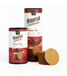 Ginger Spice  The original Moravian cookie and the perennial favorite, our Ginger Spice Cookies are baked featuring ginger from the Far East, cloves from Madagascar and allspice from Jamaica.