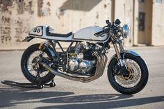 1976 Honda CB550 Cafe Racer Irish - Forums.sohc4 #motorcycles #caferacer #motos | caferacerpasion.com