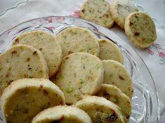 Eternos Prazeres: Biscoitos amanteigados de pistache