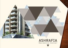 property brochure ashrafia residence center http://hative.com/30-real-estate-brochure-designs/