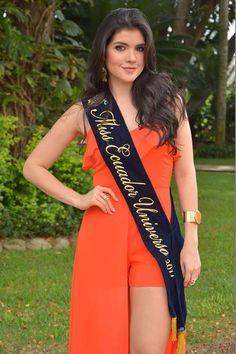 Daniela Cepeda Miss Ecuador 2017 en el Hotel Oro Verde.