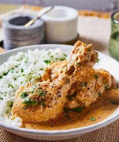 Tejszínes-mustáros csirkecombok recept | Street Kitchen Chicken Wings, Curry, Meat, Ethnic Recipes, Kitchen, Food, Curries, Cooking, Kitchens