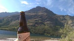 A Great Northern beer at Glacier National Park