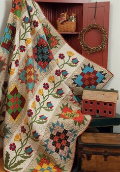 """Jeanette's Quilt"" from the book Elegant Quilts, Country Charm"