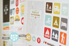 Great free camping Printables.