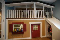 An Awesome Playhouse  (From a dear friends basement)