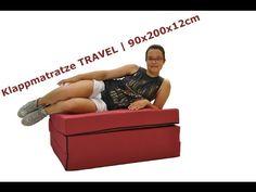 Klappmatratze TRAVEL |  BESTSELLER | 90x200x12cm | auch für Erwachsene |