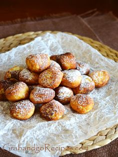 SYRNIKY (SWEET RICOTTA BALLS)-Сырники печенье - Russian desserts and sweets, Russian recipes