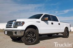 cool 2012 ford f150 leveling kit car images hd 2010 Ford F150   Icon Vehicle Dynamic Leveling Kit   Truckin Magazine