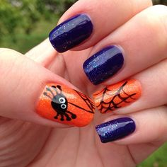 halloween  by crh1982  #nail #nails #nailart