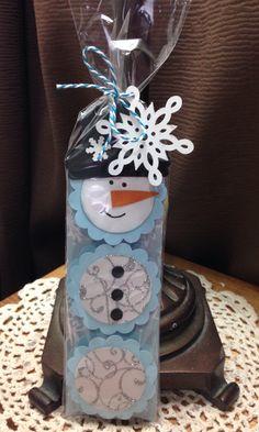 York peppermint patty snowman