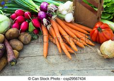 Stock Photo - organic vegetables on a table - stock image, images, royalty free photo, stock photos, stock photograph, stock photographs, picture, pictures, graphic, graphics
