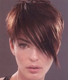 I'm not sure about the bangs, but I like the general idea...