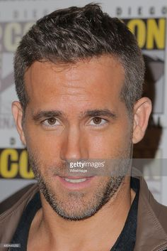 Actor Ryan Reynolds attends the 'Deadpool' press room on July 11, 2015 in San Diego, California.