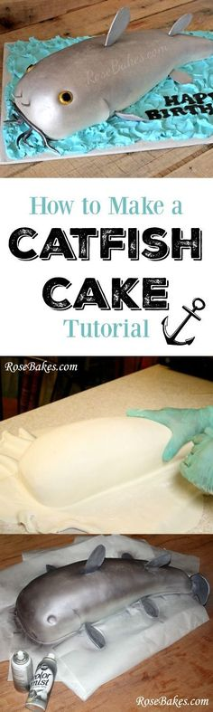 How to Make a Catfish Cake Tutorial