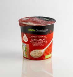 350g Desto Pot- ASDA Chosen by You Porridge range #packaging #breakfast #porridge #desto #design #asda
