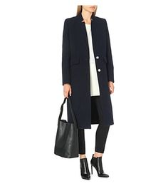 IRO Axter wool-blend coat (Navy