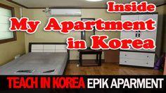 VIDEO: My Korean Apartment Tour  |Teach in Korea EPIK