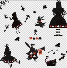 Deco ✡ 絵文字を Emoji by cokochan: PNG:Alice in Wonderland愛麗絲夢遊仙境素材