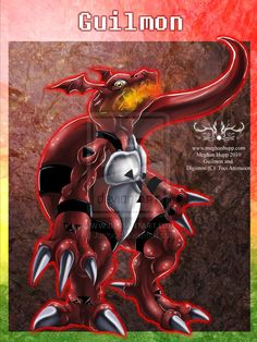 Digimon: Guilmon by *Juctoo on deviantART