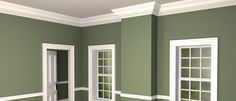 dentil molding in residential american architecture - Google Search