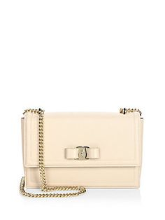 Salvatore Ferragamo Vara Score Ginny Shoulder Bag