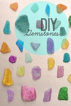 DIY Wedding Ideas: Make Your Own Gemstones