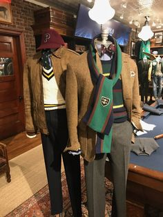 Polo Fall 2018 Encore: 45 More Mannequins - Ivy Style Polo Shirt Outfits, Sport Outfits, Polo Outfit, Preppy Boys, Preppy Style, Ralph Lauren Looks, Preppy Mens Fashion, Men's Fashion, Fashion Ideas