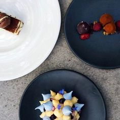 Perfection on a plate! Repost ・・・ Have your cake and eat it too 🍰 Black Barn, Pudding, Plates, Eat, Desserts, Food, Licence Plates, Tailgate Desserts, Dishes