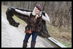 Plaid, Suede and Faux Fur – MeadowTree
