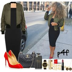 A fashion look from July 2015 by shygurl1 featuring WearAll, Topshop, Christian Louboutin, Chanel, Charlotte Russe, Minnie Grace, H&M, NARS Cosmetics and Butter...