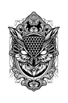 Fly Away - Ornate Owl IllustrationI'll fly away, Oh Glory, I'll fly away; in the morning when I die, Halle - Leg Tattoos, Body Art Tattoos, Sleeve Tattoos, Tattoos For Guys, Circle Tattoos, Tattoo Ink, Fish Tattoos, Geometric Throat Tattoo, Geometric Mandala Tattoo