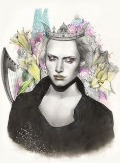Gorgeous Portraits by So Hyeon Kim | Cuded