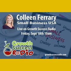 #GrowthSuccessRadion Episode 5 is up on our site.  Have a listen and learn what all #SmallBusinesses should know about marketing and business success.