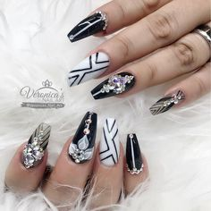 """884 Likes, 8 Comments - Veronica Vargas (@veronicas_nail_art) on Instagram: """"Ready for fall!"""""""
