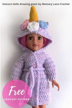 Crochet Doll Clothes, Girl Doll Clothes, Doll Clothes Patterns, Crochet Dolls, Girl Dolls, Knitted Dolls, Crocheted Hats, Crochet Bags, Doll Patterns
