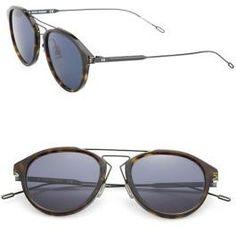 881e21a45b Dior Homme - 51MM Round Sunglasses