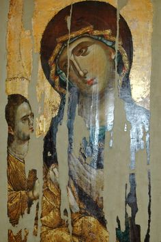 View album on Yandex. Views Album, Painting, Blessed Virgin Mary, Art, Fresco