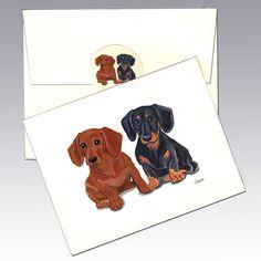 Chihuahua Dog Zeppa Studios Fur Children Note Cards Set of 8